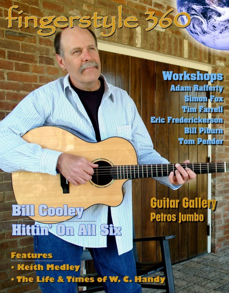 Fingerstyle360 cover first issue