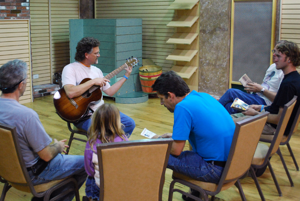 Workshop at Newport Guitar Festival
